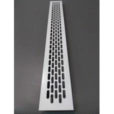 Алюмінієва решітка 480*60мм колір RAL9003